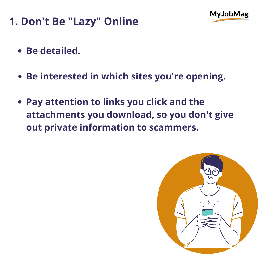 Don't Be Lazy Online