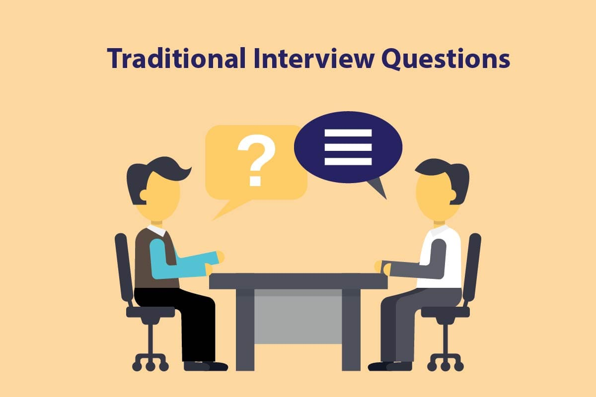 how to best answer traditional interview questions