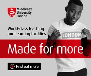 Study at London's Top University - MDX