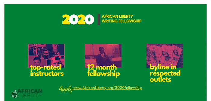 2020 African Liberty Writing Competition