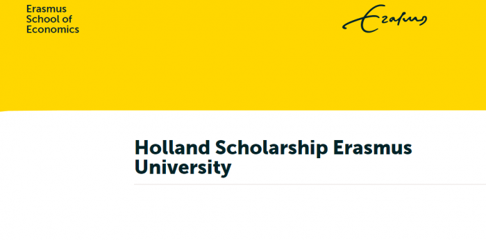 Erasmus University Holland Scholarship 2020/2021 for International Students