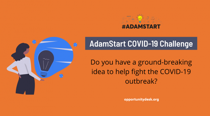 Call for Ideas: The AdamStart Global Network Covid19 Challenge 2020