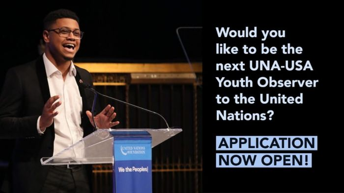 UNA-USA 2020-2021 Youth Observer Application