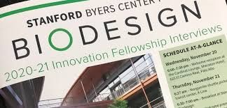 The Stanford Biodesign Innovation Fellowship 2021-2022