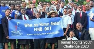 United Nations Human Rights Office of the High Commissioner - Third Human Rights Youth Challenge