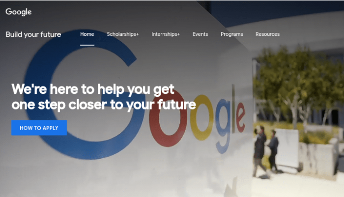 Google Conference and Travel Scholarships