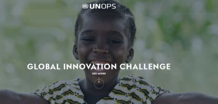 UNOPS Global Innovation Challenge
