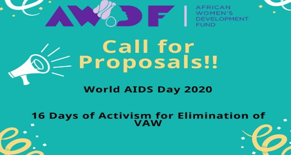 Call for Applications: African Womens Development Fund Main Grant 2020