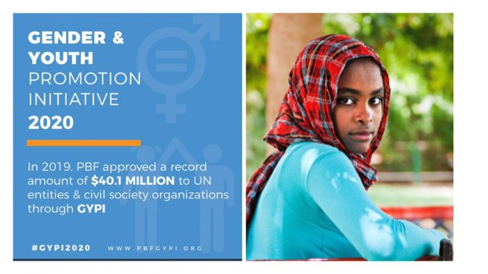 Call for Proposal - Secretary-General's Peacebuilding Fund Gender and Youth Promotion Initiative 2020