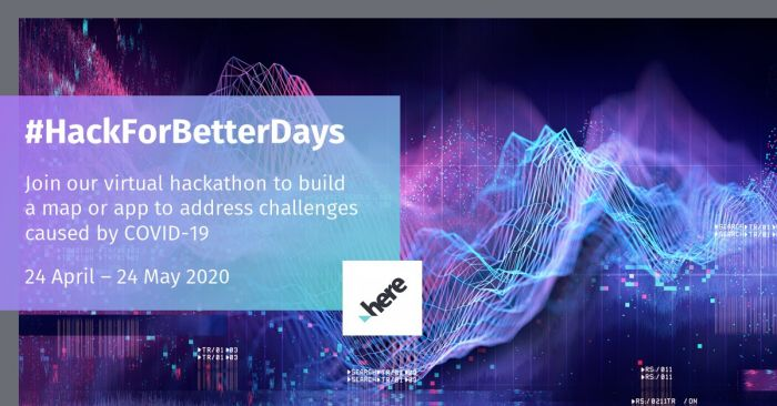 HERE Technologies Hack for Better Days