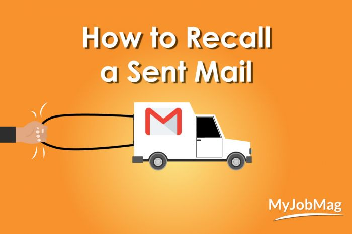 How to Recall/Replace an Email You Sent