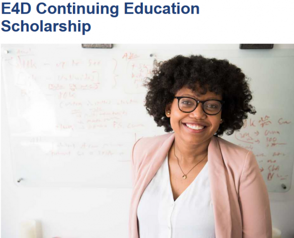 The Engineering for Development (E4D) Continuing Education Scholarship Programme
