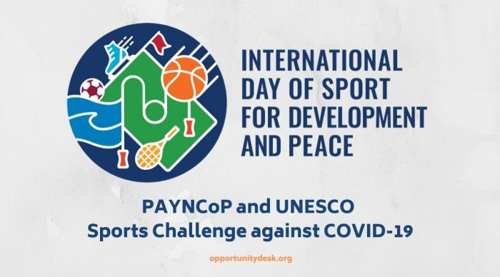 Call for Participation: Sports Challenge against COVID-19