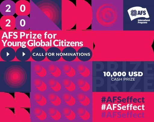The AFS Prize for Young Global Citizens