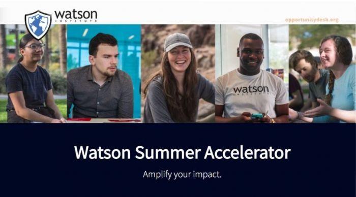 Watson Semester Accelerator 2020