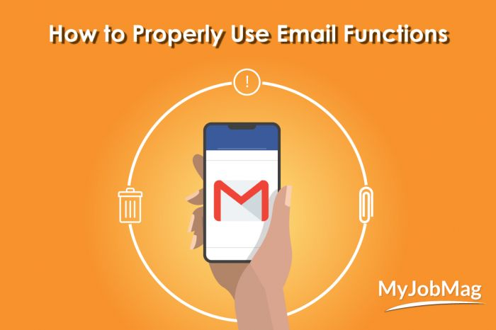 How to Appropriately Use Email Functions to Send an Effective Mail