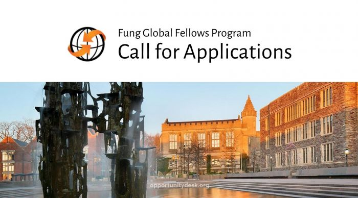 Call for Applications - Fung Global Fellows Program