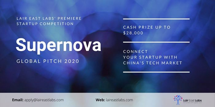 Lair East Labs' Supernova Global Pitch Competition 2020