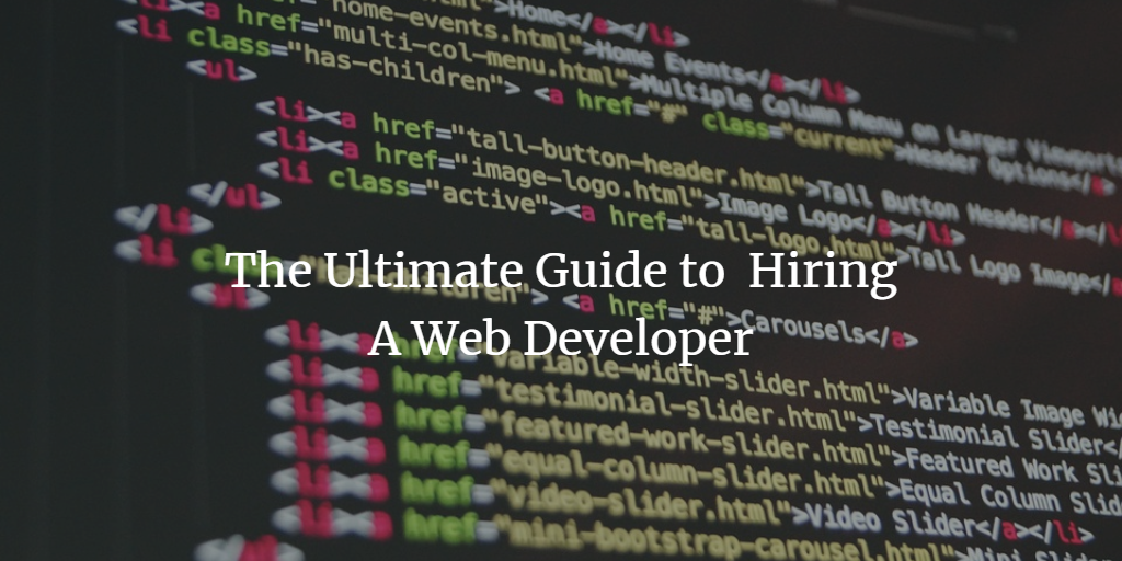 How to Hire A Web Developer for Your Small Business