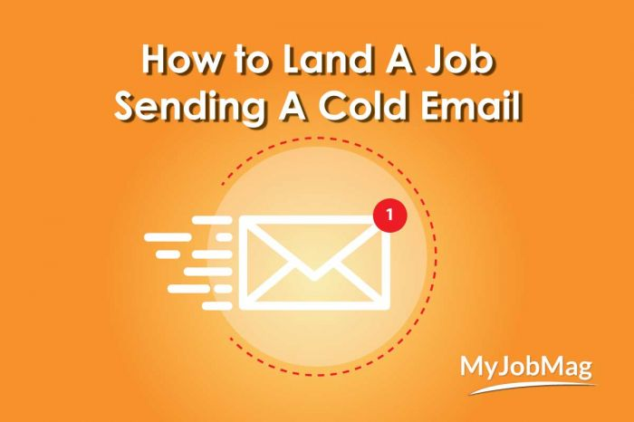 Tips for Landing Your Dream Job with A Cold Email