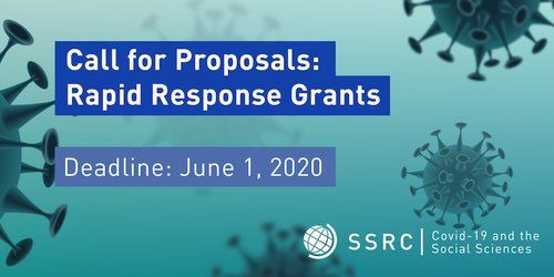 Call for Proposals - Rapid-Response Grants on Covid-19 and the Social Sciences