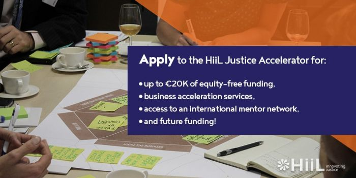 Call for Innovations - Innovating Justice Challenge 2020