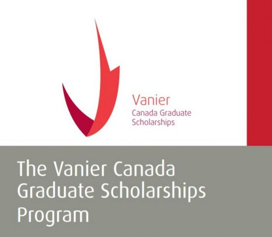 The Vanier Canada Graduate Scholarship (CGS) for Doctoral Study 2020/2021