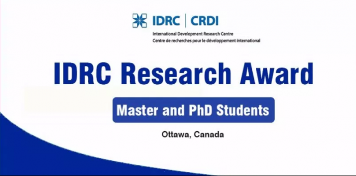 IDRC Doctoral Research Awards 2020