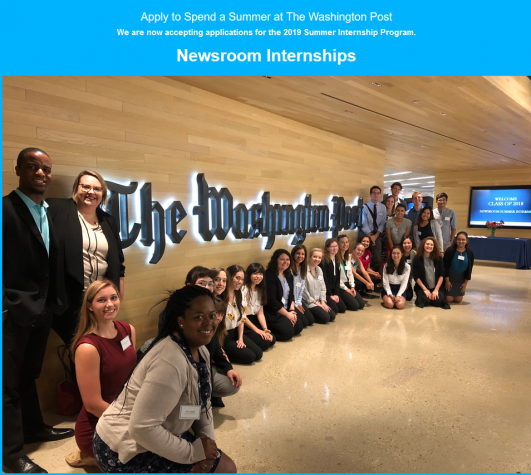 The Washington Post Newsroom Summer Internship Program