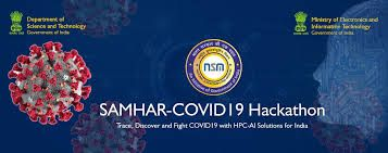 Department of Science and Technology (Government of India) - SAMHAR-COVID19 Hackathon