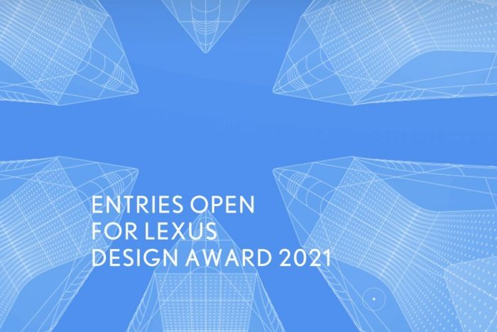Call for Entries for Lexus Design Award 2021