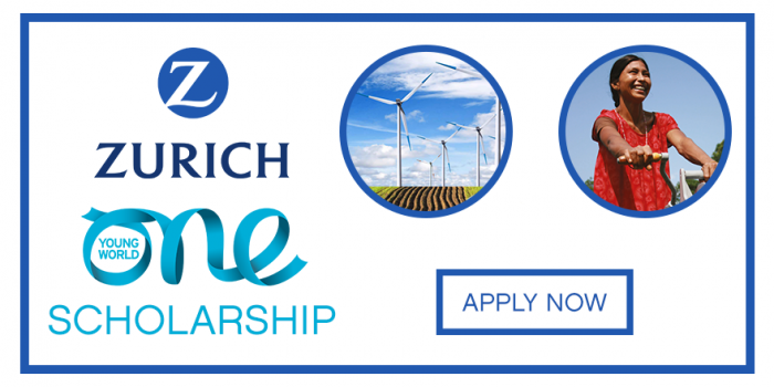 Zurich One Young World Scholarship 2020
