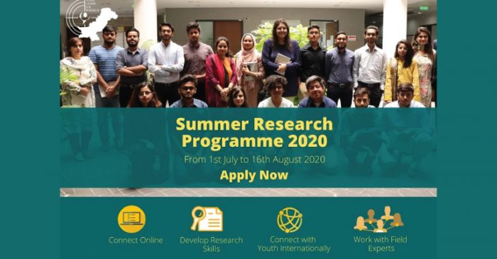 Youth Center for Research Virtual Summer Research Programme 2020