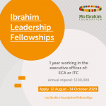 Mo Ibrahim Foundation Academy Fellowship 2021