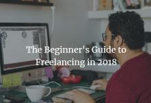 Freelancing Guide 2018- How to Become A Successful Freelancer banner