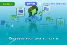 MyJobMag 30 Day Work Challenge: Day 24 -  Assess your goals