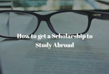 How to get a Scholarship to Study Abroad