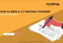 How to Write a Personal Statement for Your CV