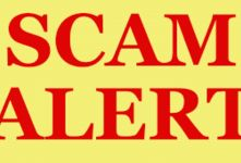Scam Alert: Organization requesting for an exam with affiliate scam sites banner