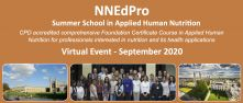 5th NNEdPro Summer School in Applied Human Nutrition