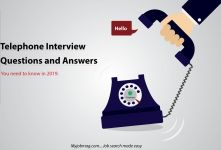 2019 Latest Telephone Interview Questions and Answers You Need to Know banner