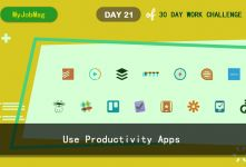 MyJobMag 30 Day Work Challenge: Day 21 - Productivity apps