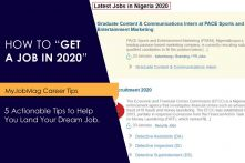 5 Things You Need to Know to Get a Job in 2020