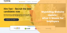 The MyJobMag Website Update: What It Means For You As An Employer