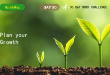 MyJobMag 30 Day Work Challenge: Day 30 - Plan for the Growth
