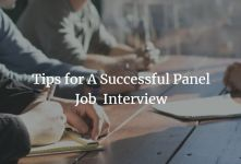 Panel Interview - Tips for A Successful Panel Interview banner