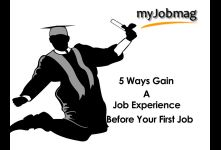 5 Ways to Gain a Job Experience before Your First Job banner