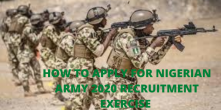 How To Apply For Nigerian Army Recruitment 2020