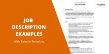 Job Description Examples
