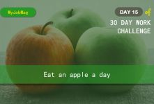 MyJobMag 30 Day Work Challenge: Day 15 - Eat An Apple a Day